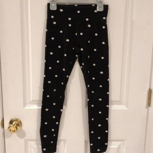 Justice Pattern Leggings Size 10